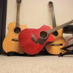 2 Guitares électro acoustique yamaha FSX 800C/ FX370C 1Guitare Classique Castelluccia